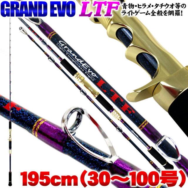 アジ・イサキ~青物落とし込み、タチウオ、ヒラメまで網羅  GRAND EVO LTF 195(30~100号) 220サイズ(goku-950608)