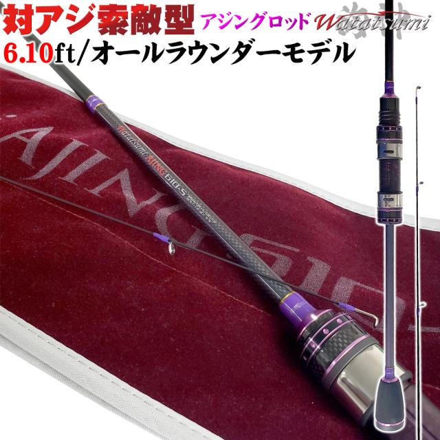 アジングロッド Watatsumi AJING 610-S(goku-952947)