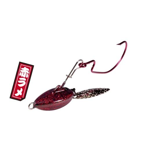 【Cpost】マグバイト スイミングリグ 艶バサロ 14g 赤ラメ(hari-302302)