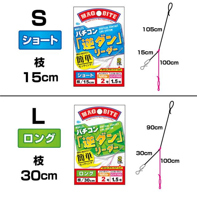 【Cpost】マグバイト バチコン「逆ダン」リーダー (hari-gyaku)