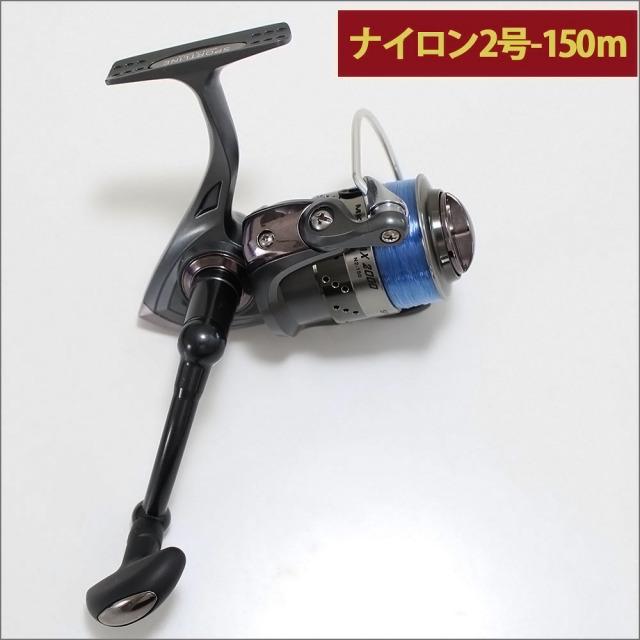 グローブライド (ダイワ)/スポーツライン MK V-MAX 2000 ナイロン糸2号150m付き スピニングリール