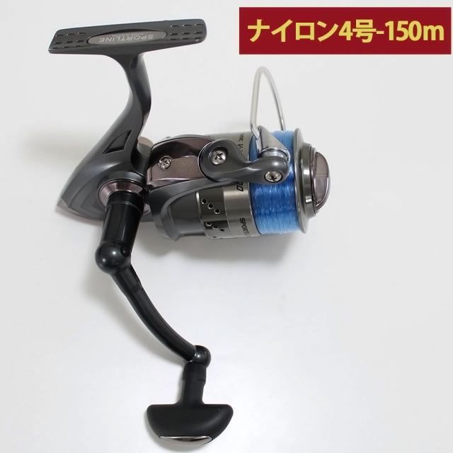 グローブライド (ダイワ)/スポーツライン MK V-MAX 3000 ナイロン糸4号150m付き スピニングリール