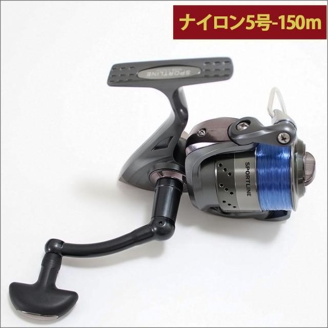 グローブライド (ダイワ)/スポーツライン MK V-MAX 3500 ナイロン糸5号150m付き スピニングリール