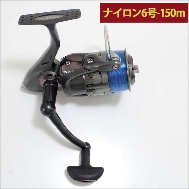 グローブライド (ダイワ)/スポーツライン MK V-MAX 4000 ナイロン糸6号150m付き スピニングリール
