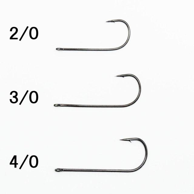 【Cpost】お買い得業務用パック 管付 船タチウオ針 50本入 (2/0 3/0 4/0) [160208-50]