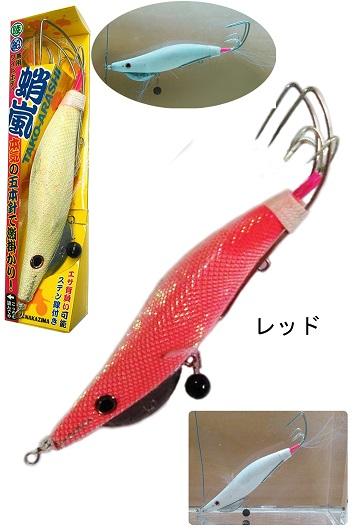 ナカジマ 蛸嵐 4.0号 レッド
