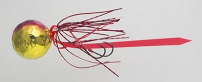 【Cpost】ヤマシタ 鯛歌舞楽 鯛乃玉丸型セット150g 09 ゴールドレッドケイムラ