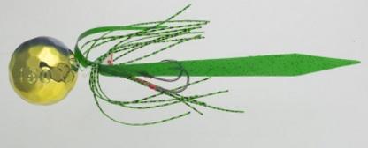 【Cpost】ヤマシタ 鯛歌舞楽 鯛乃玉丸型セット150g 12 ゴールドグリーンケイムラ