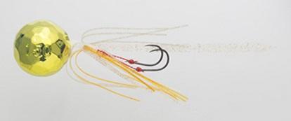 【Cpost】ヤマシタ 鯛歌舞楽 鯛乃玉丸型セット150g 13 ゴールドケイムラ