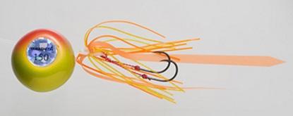 【Cpost】ヤマシタ 鯛歌舞楽 鯛乃玉平型セット150g 17 ホロゴールドオレンジケイムラ