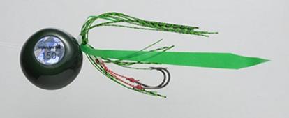 【Cpost】ヤマシタ 鯛歌舞楽 鯛乃玉平型セット150g 18 濃グリーンケイムラ