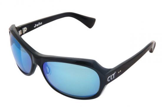 CLT Julii(ジュリー) ブラックXグリーンスモーク/ブルーミラー(clt-150454)