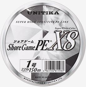 【Cpost】ユニチカ ショアゲームPE X8 200m 3.0号