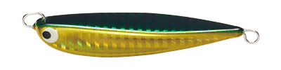 【Cpost】タックルハウス タイジグ 100g 80mm グリーンゴールド