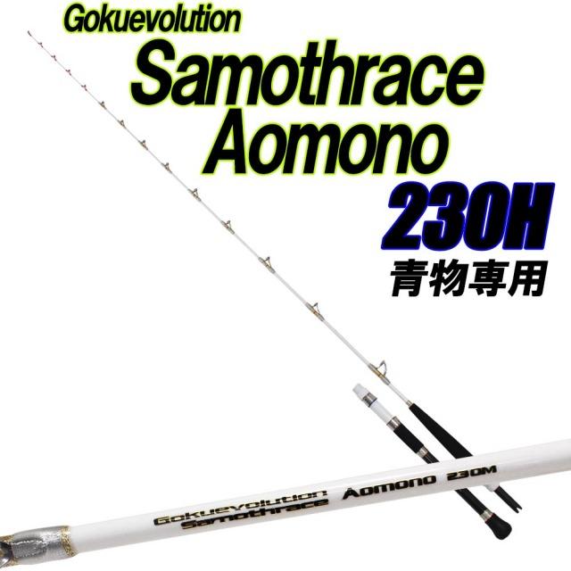 青物専用竿 ゴクエボリューション サモトラケ Aomono230H (80~150号)(goku-086712)