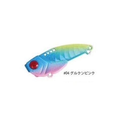 【Cpost】インクスレーベル (INX.LABEL) ゴッツンバイブ 7g #04 グルクンピンク