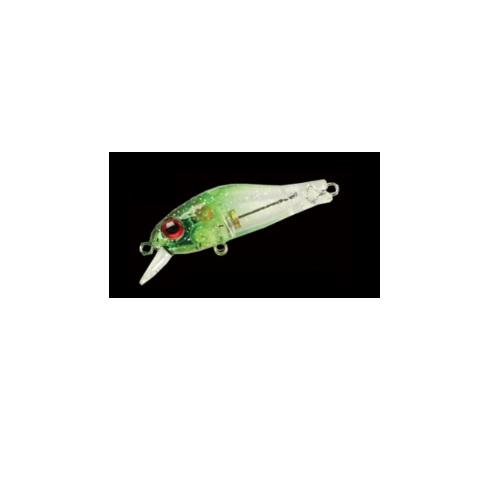 【Cpost】ジップベイツ リッジ 35HF 247 クリアグリーンヘッド/ラメ(zip-381045)