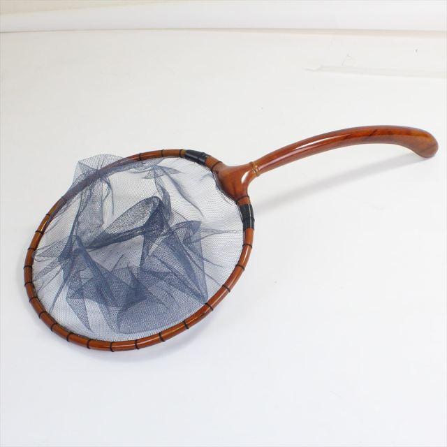 特作 渓流タモ 尺(30cm) 2mm目 グレー (170400-grey)