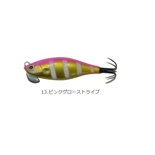【Cpost】カンジインターナショナル クリックス アンダー2 #13ピンクグローストライプ(kanji-520407)