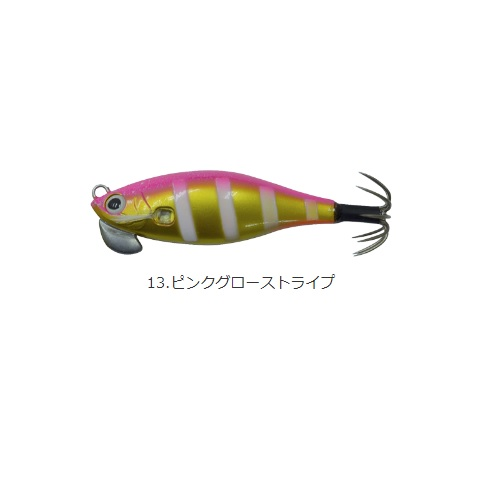【Cpost】カンジインターナショナル クリックス アンダー2プラス #13ピンクグローストライプ(kanji-520902)