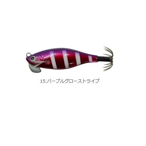 【Cpost】カンジインターナショナル クリックス アンダー2プラス #15パープルグローストライプ(kanji-520926)