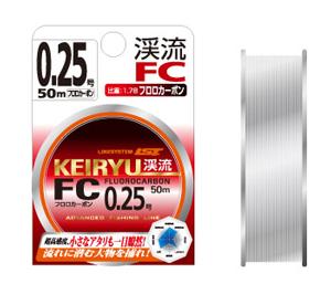 【Cpost】ライトゲームのリーダーに最適!!ラインシステム 渓流FC フロロカーボン50m (line-kfc)