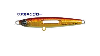 【Cpost】ルミカ Xtrada (エクストラーダ) メタルジャッカー 20g アカキングロー