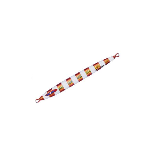 【Cpost】メジャークラフト ジグパラ バーチカル ロングスロー 100g #03 レッドゴールド(major-207025)