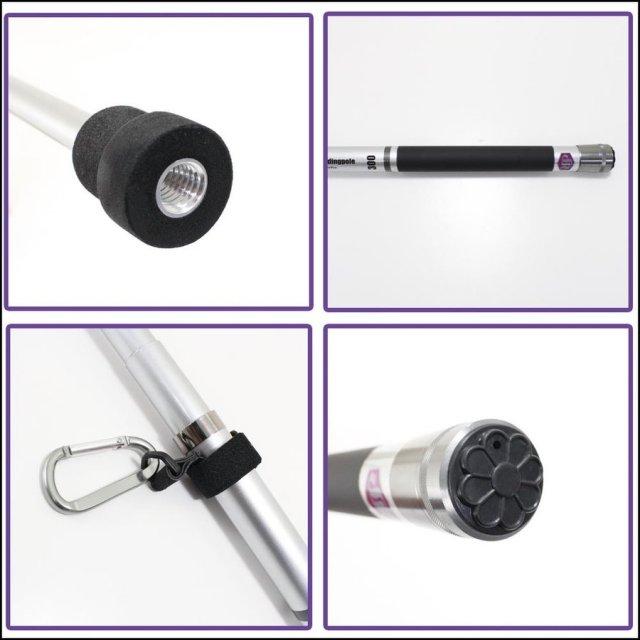 ☆ポイント5倍☆小継玉の柄 SeaMaster Landing Pole 240(ori-087405)