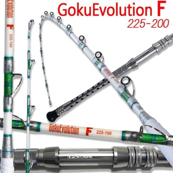 総糸巻 GokuEvolution F 225-200 パ-ルホワイト (90068-w)