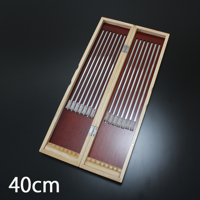 アウトレット現品 キズ、ヘコミあり 桐製 磁石固定式ウキ箱 40cm (out-50267-40)