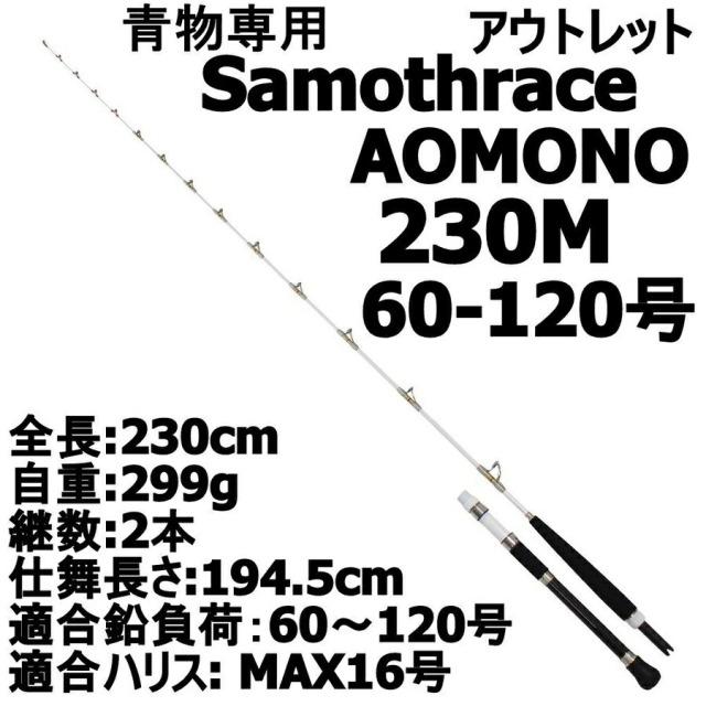 【アウトレット】Gokuevolution サモトラケAomono 230M 60-120号 (out-in-086705-2)