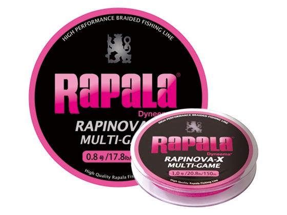 【Cpost】ラパラ ラピノヴァ・エックス マルチゲーム 100m 0.3号 ピンク (rap-228341)