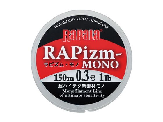 【Cpost】ラピズム モノ 0.5号 (3LB) 150m クリア (rap-257235)
