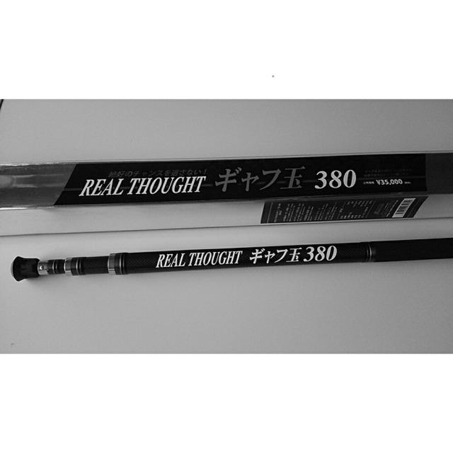 ロッドコム REAL THOUGHT ギャフ玉 380(rd-670334)
