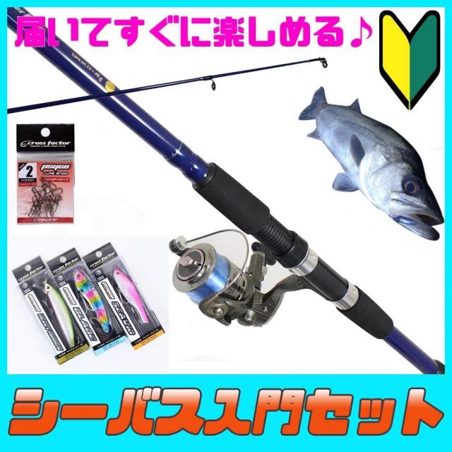 釣り場に直行 シーバス入門セット (seabassset-010)