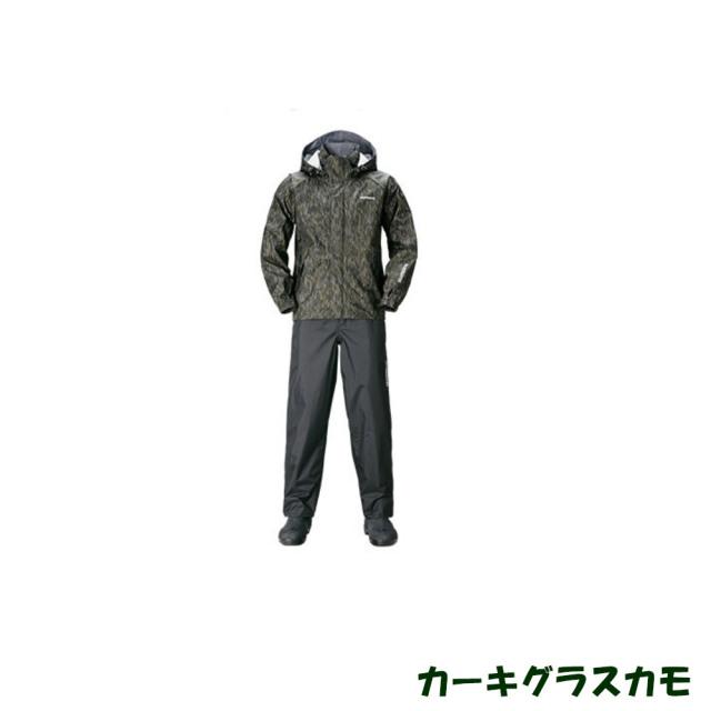 シマノ DSベーシックスーツ RA-027Q カーキグラスカモ(shi-ra027q-g)