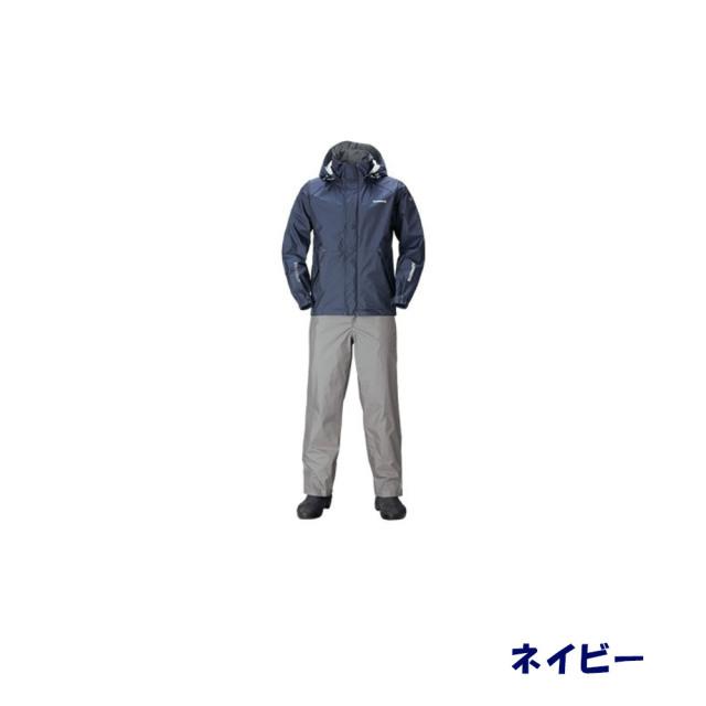シマノ DSベーシックスーツ RA-027Q ネイビー(shi-ra027q-n)