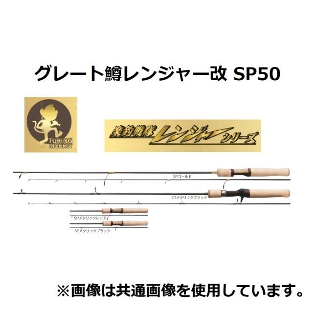 【お取り寄せ品】TURINGMONKEY グレート鱒レンジャー改 SP50 メタリックブラック(shimo-015002)