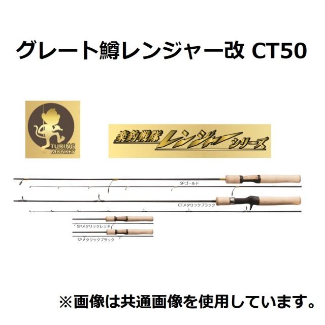 TURINGMONKEY グレート鱒レンジャー改 CT50 メタリックブラック(shimo-015040)