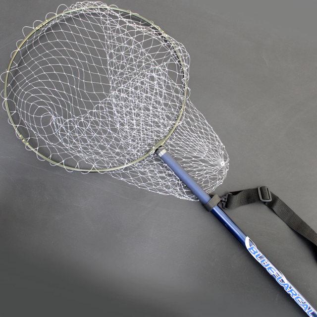 磯玉2点セット BLUELARCAL 磯玉の柄500 & 網付き 50cm強化アルミ四つ折り枠 (sip-netset10-iso)
