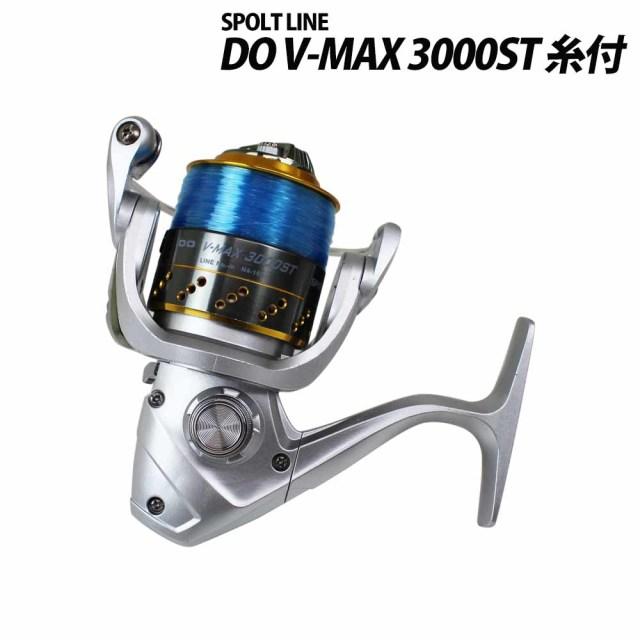 グローブライド スポーツライン DO V-MAX 3000ST ナイロン糸4号150m付 60サイズ (spl-226400) スピニングリール