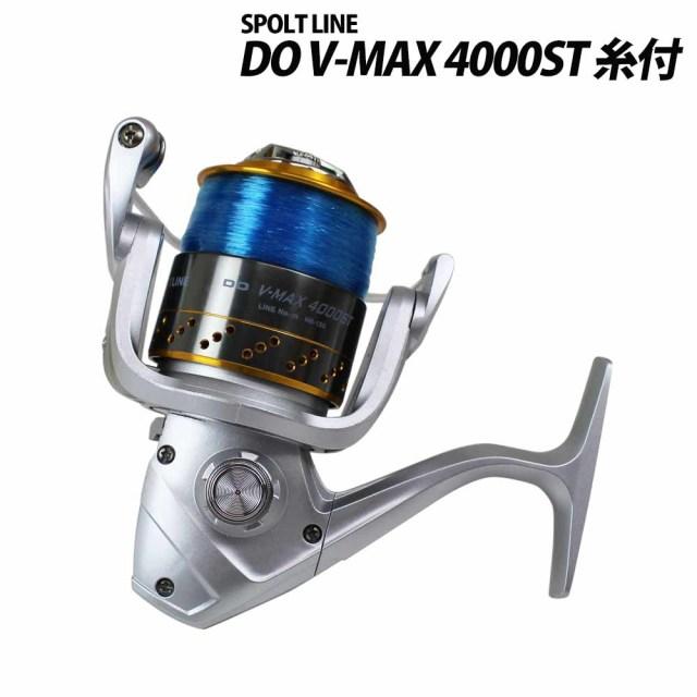 グローブライド スポーツライン DO V-MAX 4000ST ナイロン糸6号150m付 60サイズ (spl-226424) スピニングリール
