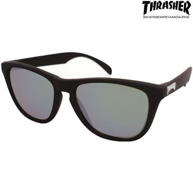 偏光 サングラス THRASHER(スラッシャー) PLANET(プラネット) No.1015 スモーク(thrasher-420300)