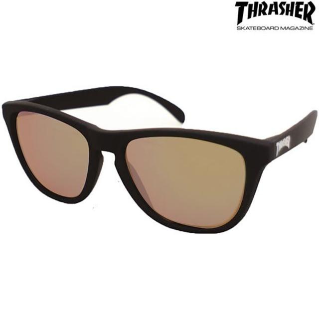 偏光 サングラス THRASHER(スラッシャー) PLANET(プラネット) No.1015 ブラウン(thrasher-420317)