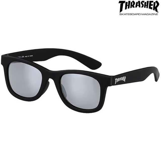 偏光 サングラス THRASHER(スラッシャー) LITTER(グリッター) No.1021 キッズサイズ スモーク(thrasher-420386)