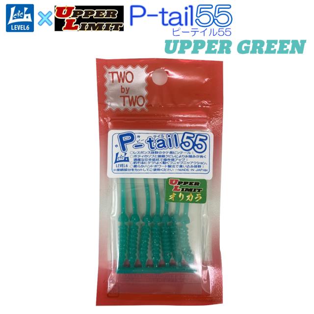 【Cpost】おり釣具オリジナル TWObyTWO レベロク P-tail 55(two-u-299576)
