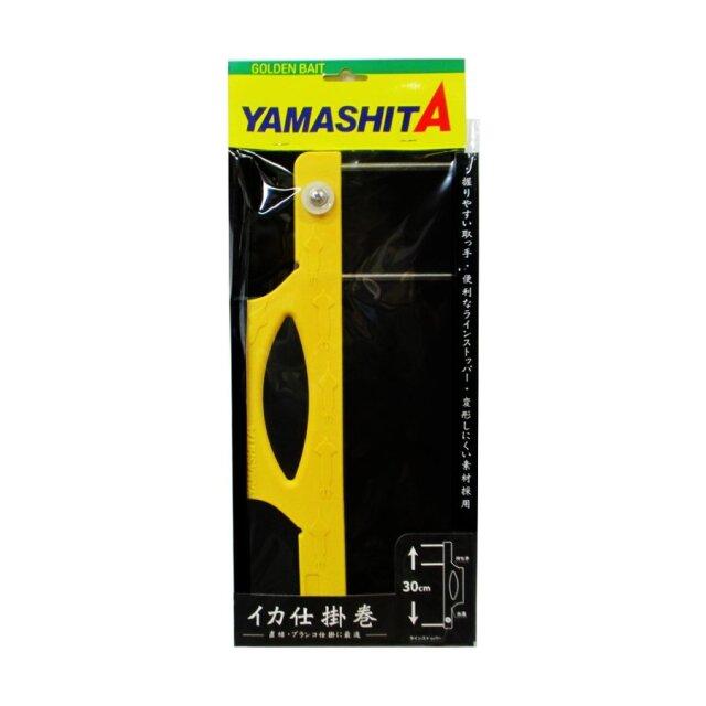 ヤマシタ イカ仕掛巻 30cm イエロー (yamaria-604573)