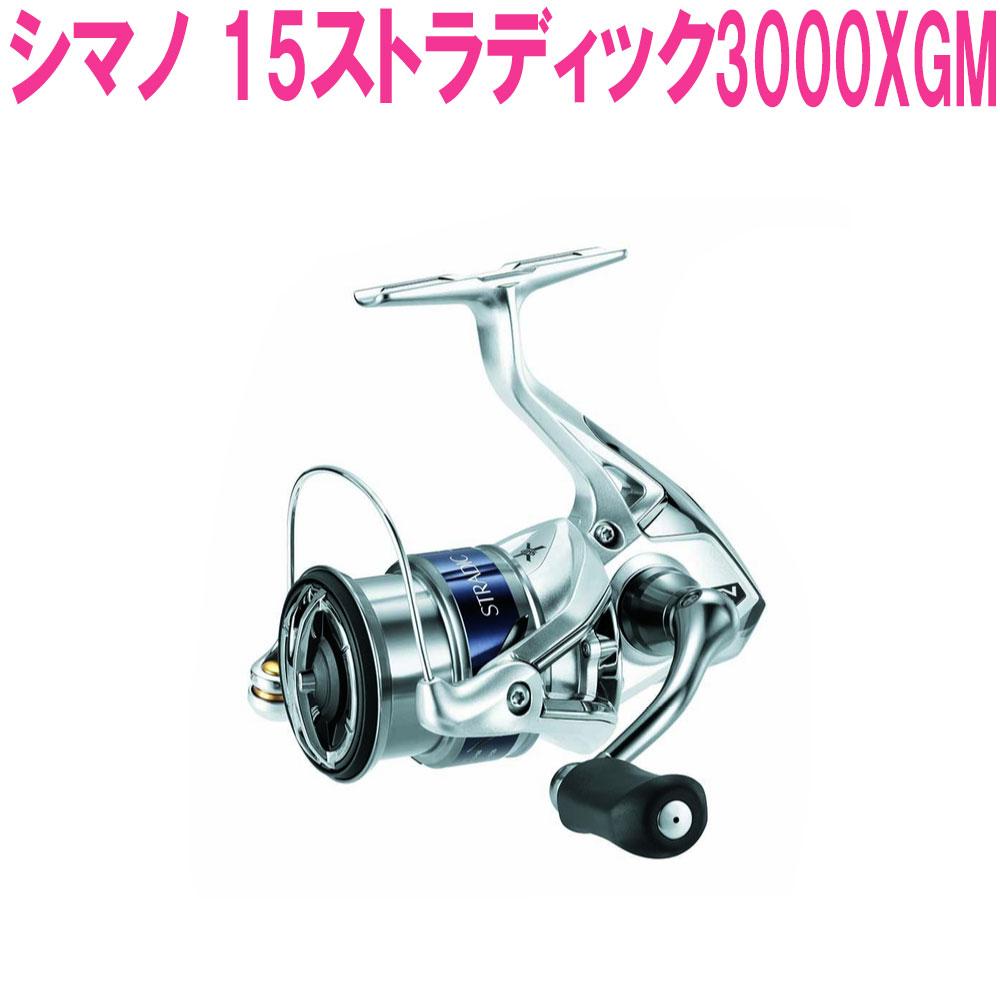 【特価】【Cpost】シマノ  15ストラディック 3000XGM(shi-034144)