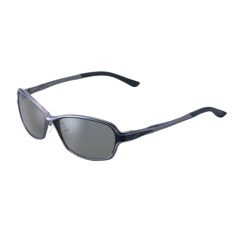 偏光 サングラス ジールオプティクス ドリオ F-1663 ガンメタルブラック/トゥルービューフォーカスシルバーミラー(zeal-166801)